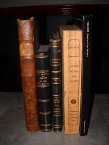 De gauche à droite, les éditions du Philidor de 1777, 1803, 1850, 1871 et 2014