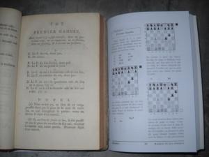 Premier Gambit comparaison 1777 - 2014