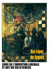 La couverture du Ruy López par Luc Poitier